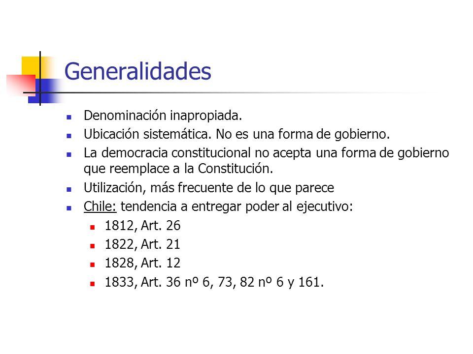 Generalidades Denominación inapropiada.Ubicación sistemática.