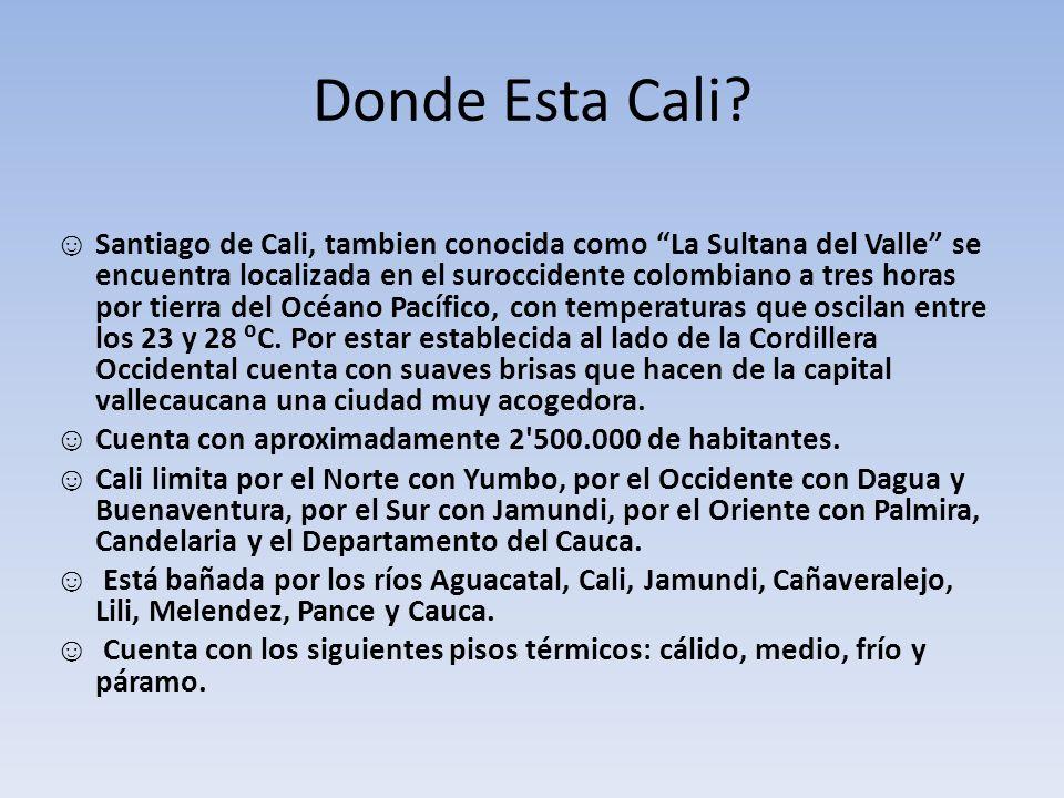 Bandera Fue creada por el doctor Nicolás Ramos Hidalgo, cuando fue el Alcalde de Santiago de Cali en 1928 y Gobernador del Valle el doctor Carlos Holguín Lloreda.