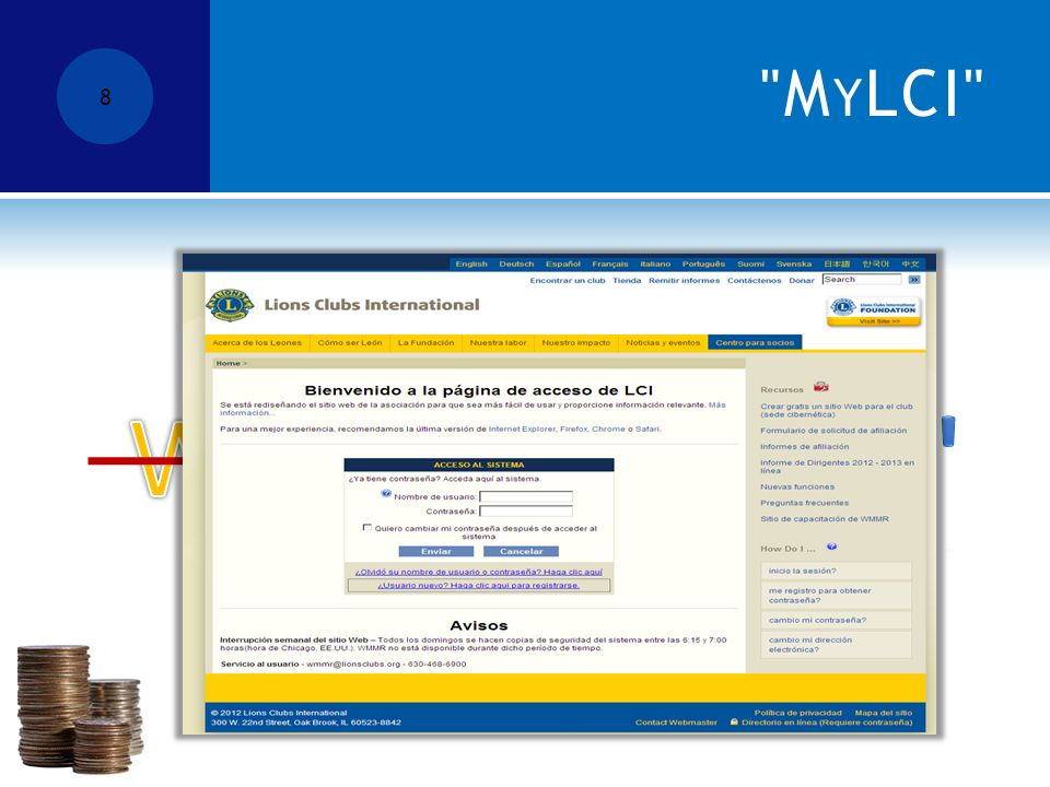 M Y LCI 8