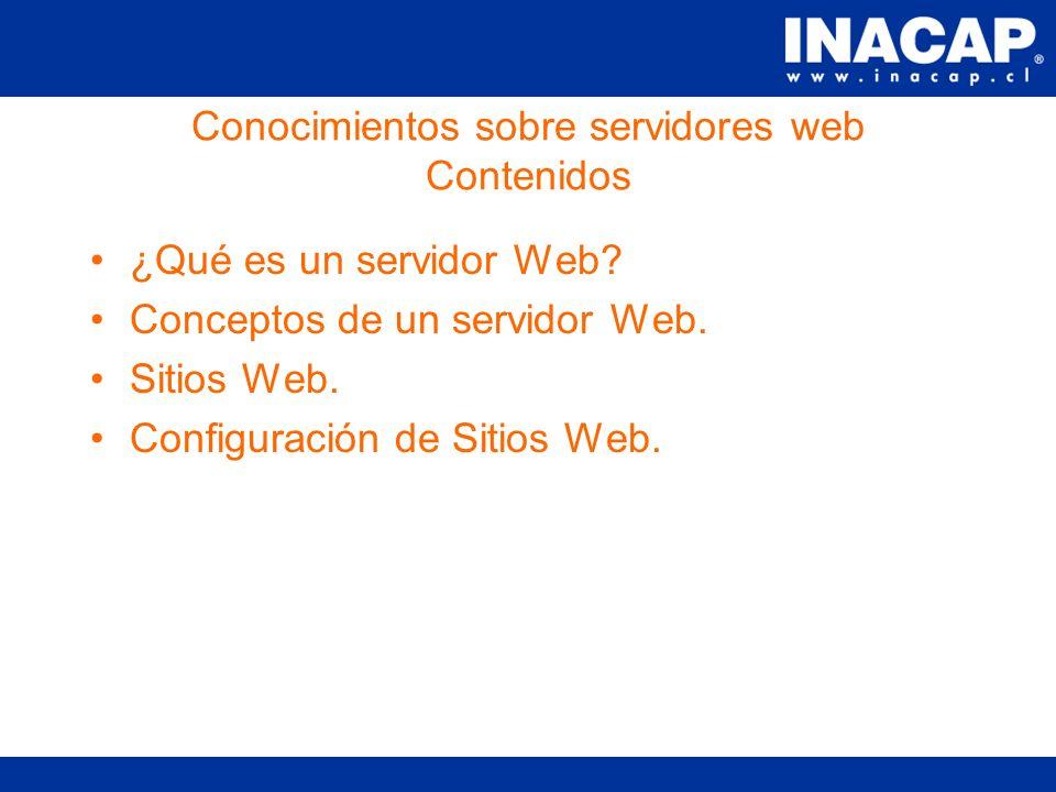 Capacitación de Herramientas para el Desarrollo WEB Modulo II- Conocimientos sobre servidores Web Sesión #1 María Paz Coloma M.