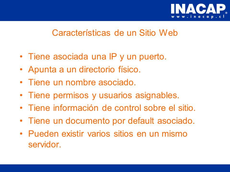 Definición de un Sitio Web Un sitio web representa una aplicación web para el desarrollor.