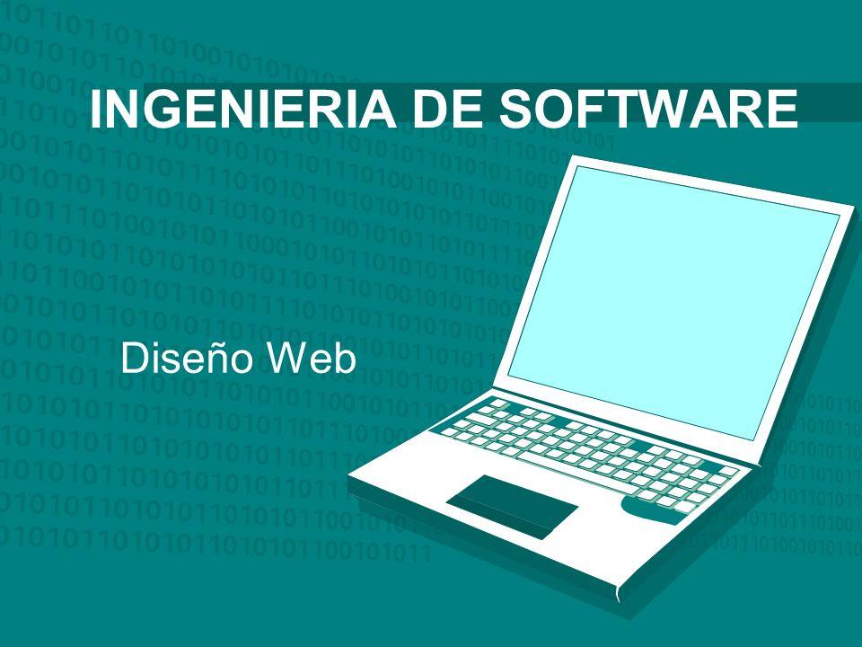 Diseño Web INGENIERIA DE SOFTWARE