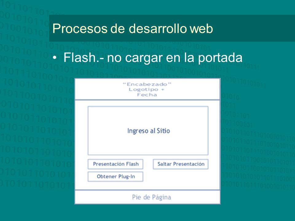 Flash.- no cargar en la portada