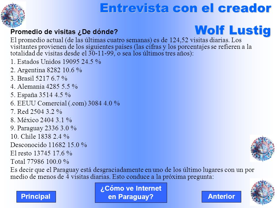 ¿Cómo ve Internet en Paraguay.