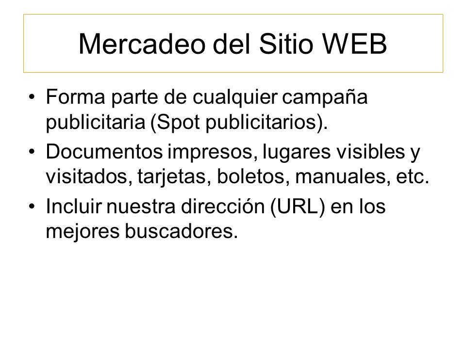Monitoreo, Evaluación y Mantenimiento Buscar información de visitas de los usuarios, que páginas del sitio son las mas visitadas, incluir el análisis de horas mas visitadas o el ancho de banda mas utilizado a determinada hora.