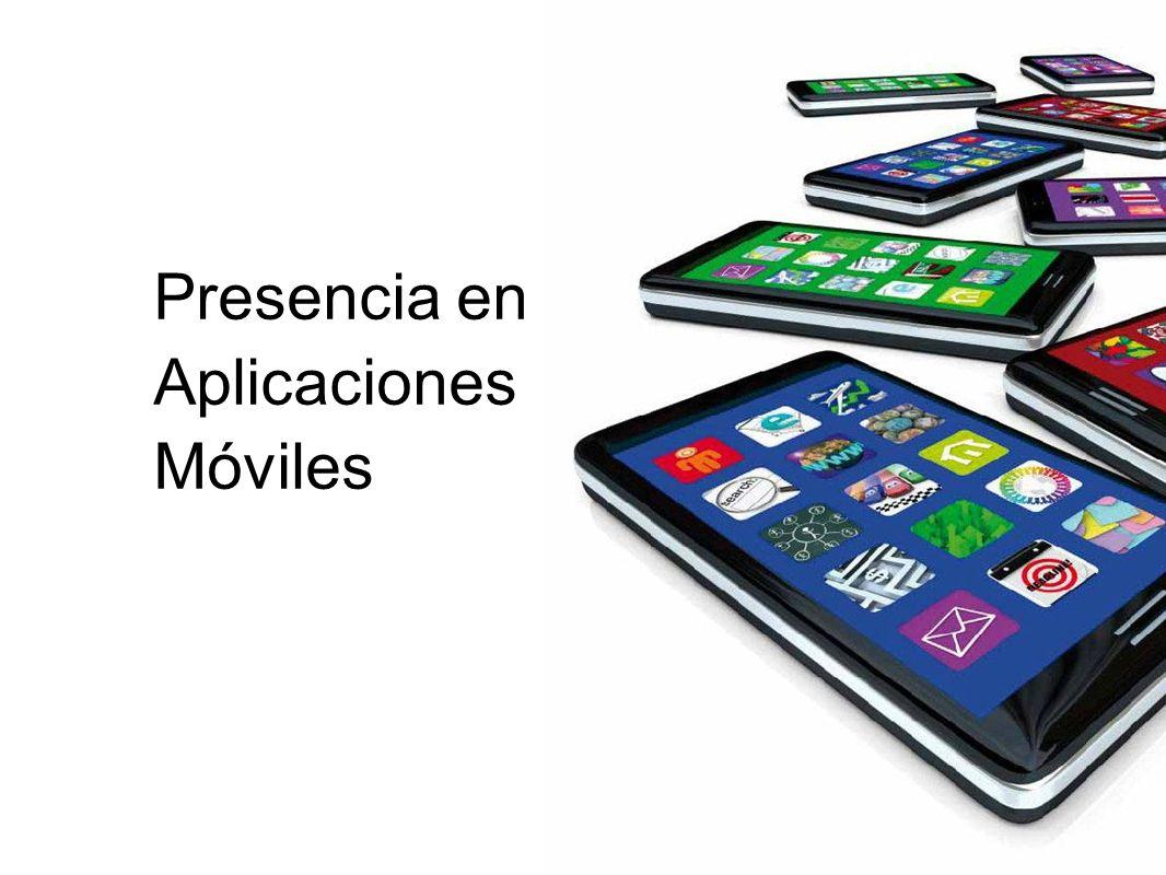 Presencia en Aplicaciones Móviles