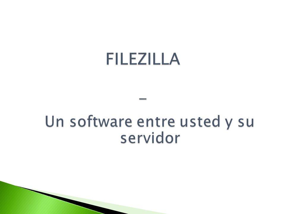 Un cliente FTP (File Transfer Protocol) es un software que le permite comunicar con su servidor.cliente FTP Le permite transferir uno o varios ficheros hacia un servidor a distancia (alojamiento web), gracias a una interfaz segurizada.