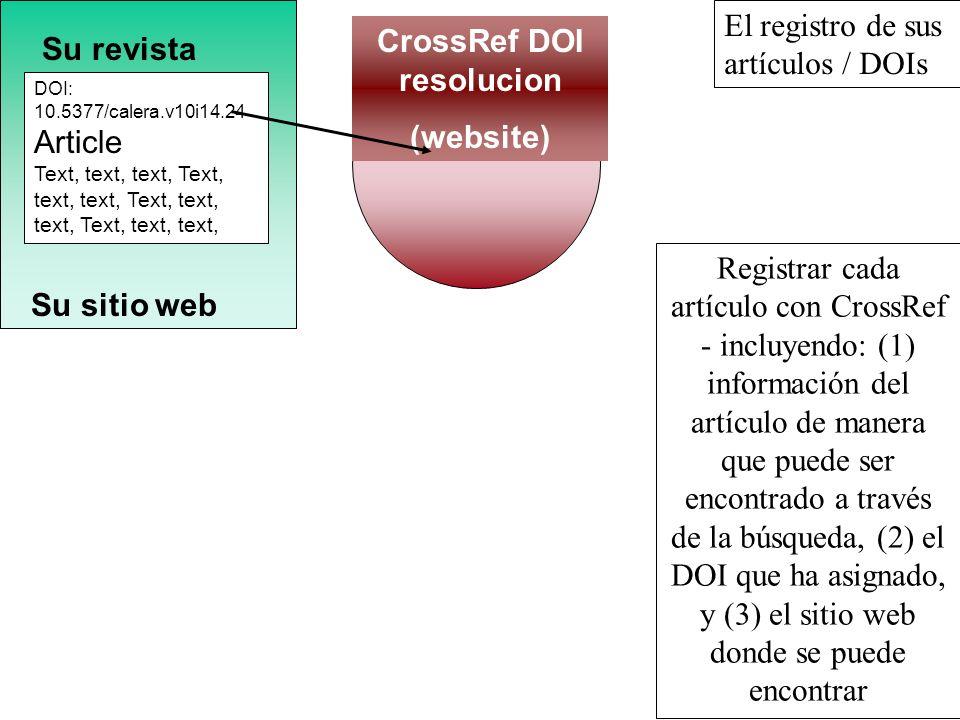 Su revista Su sitio web CrossRef DOI resolucion (website) DOI: 10.5377/calera.v10i14.24 Article Text, text, text, Text, text, text, El registro de sus