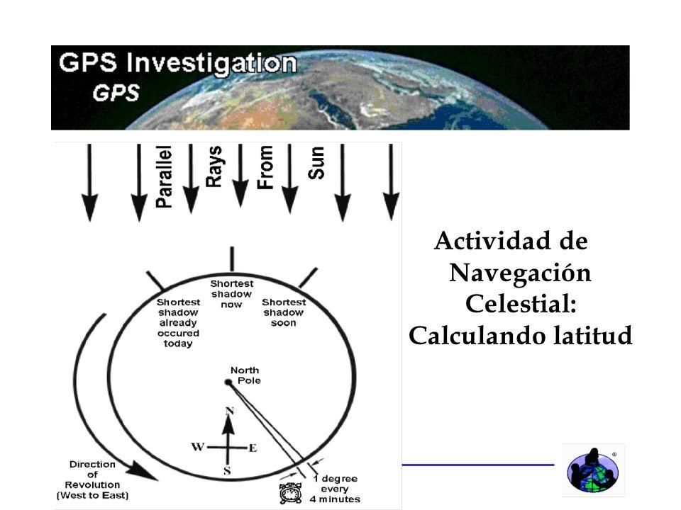 15 Actividad de Navegación Celestial: Calculando latitud