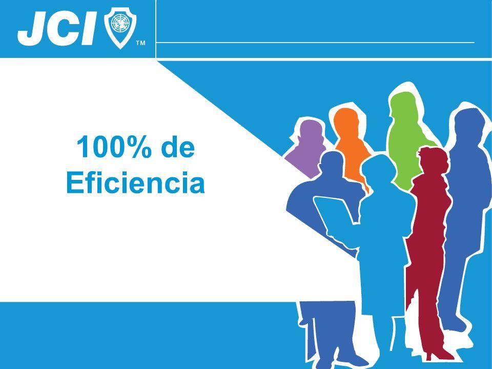 100% de Eficiencia