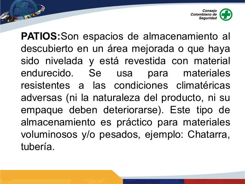 Dec.1609 de 2002 Clase 1. Explosivos OPERACIÓN DE ALMACENAMIENTO ETIQUETADO Clase 2.
