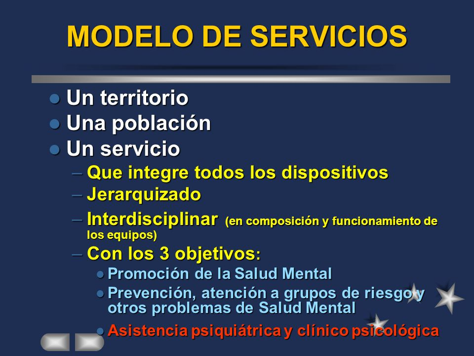 Ejemplo de modelo de servicios de salud mental comunitaria ESMD URUME USMI UPHG EDUCACIÓN ATENCIÓN PRIMARIA COMUNIDAD