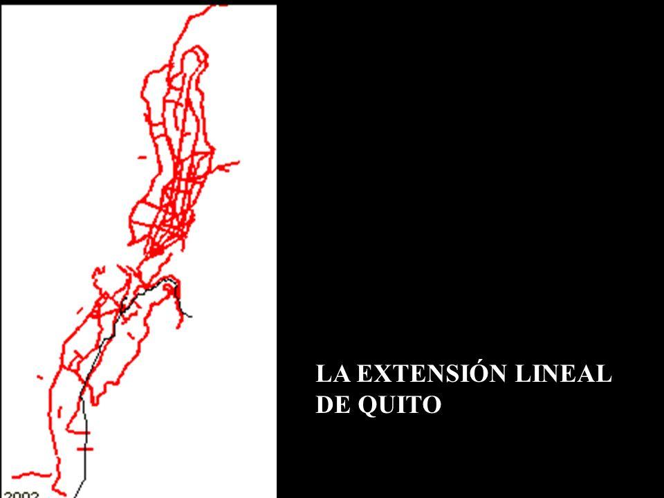 LA EXTENSIÓN LINEAL DE QUITO
