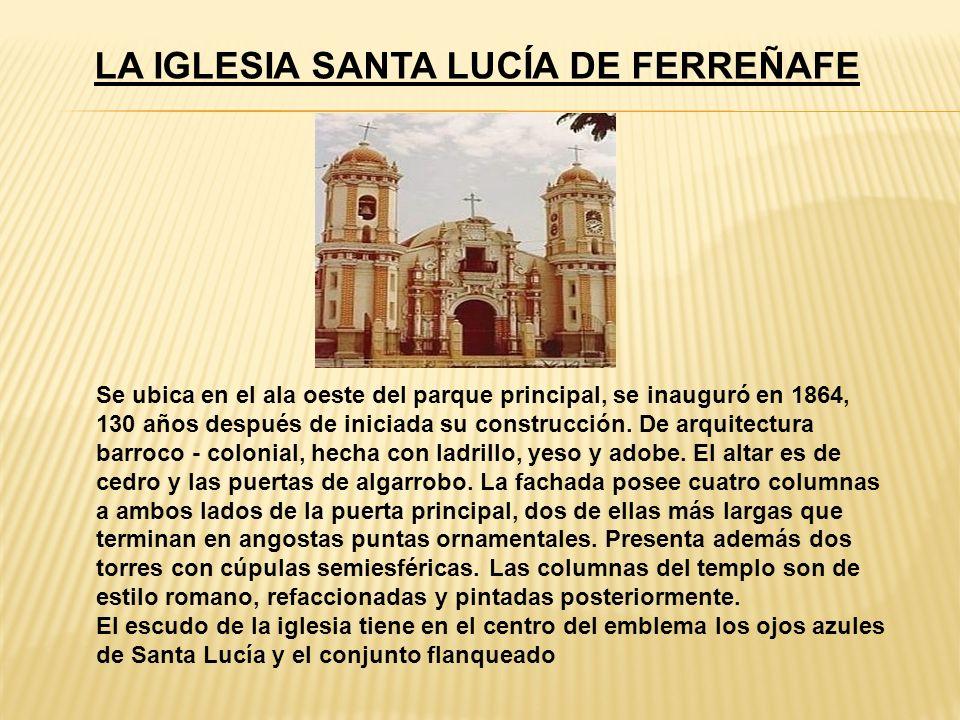 LA CASA DE LA LOGIA La Casa de la Logía o Casa Montjoy se ubica a una cuadra de la Iglesia San Pedro, en la intersección de las calles Dos de Mayo y San Martín.