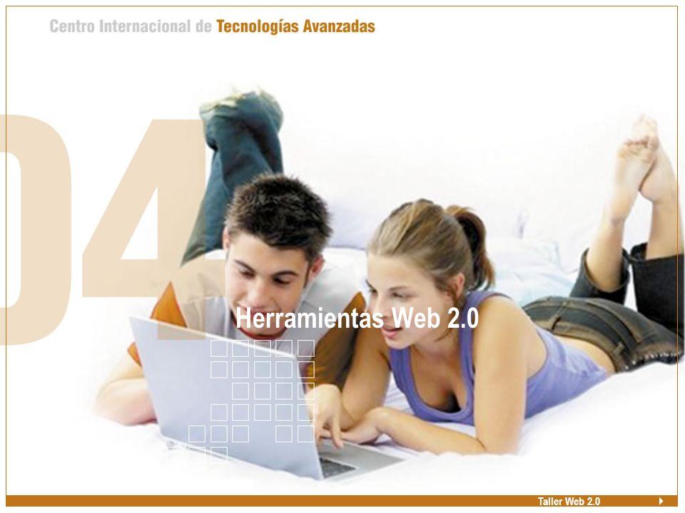 Herramientas Web 2.0 Taller Web 2.0