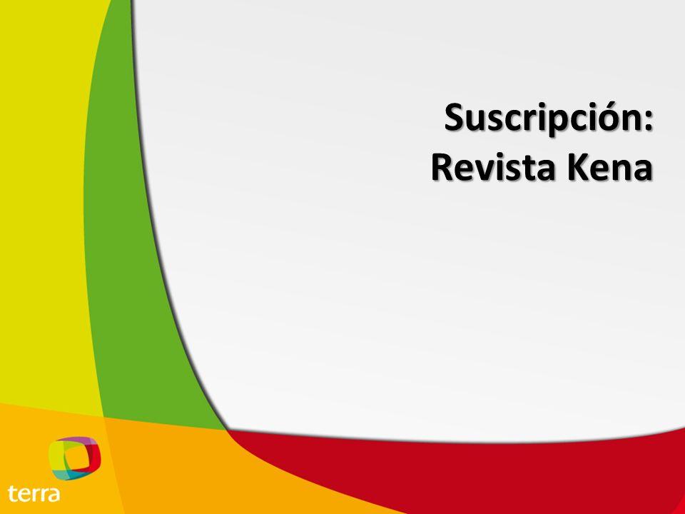 Suscripción Revista Kena KENA es una marca que pertenece a Editorial Armonía, una de las 4 editoriales de revistas más importantes de México.