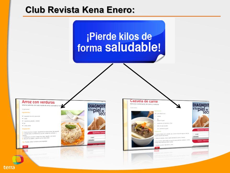 Club Revista Kena Enero:
