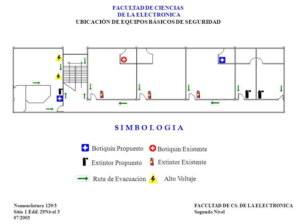 Nomenclatura 130/1 Sitio 1 Edif.