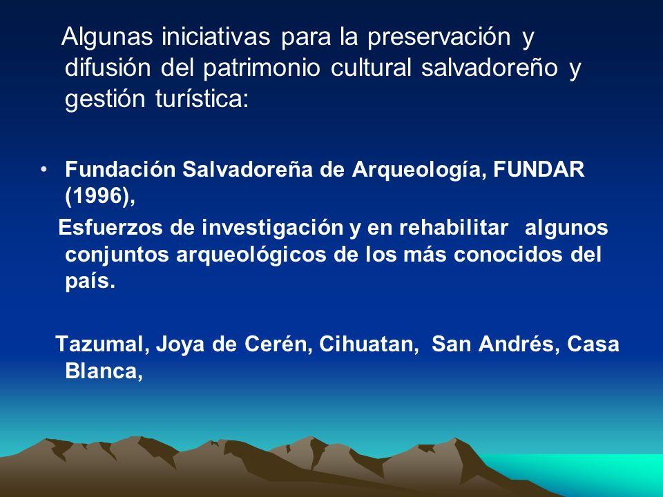 Iniciativa Pro Arte Popular, INAR (1997): Museo de Arte Popular Su objetivo principal es el rescate y valoración De las artes y tradiciones populares de El Salvador.