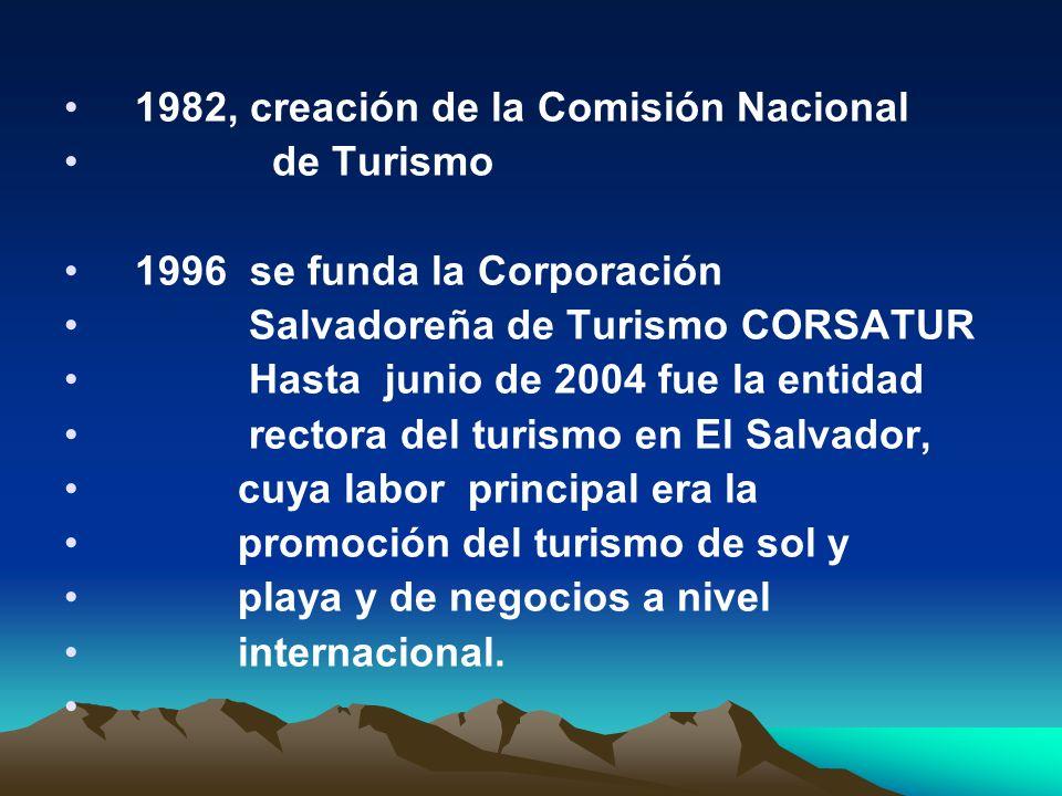 2004, se constituye el Ministerio de Turismo[1], que incorpora al ISTU y CORSATUR, como instancias operativas.