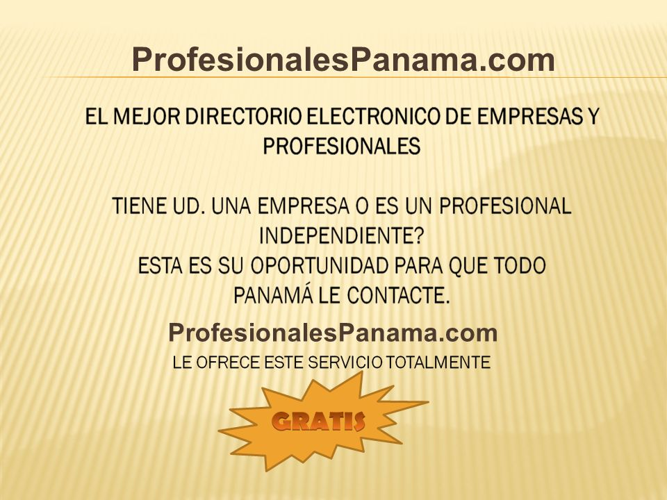 ProfesionalesPanama.com