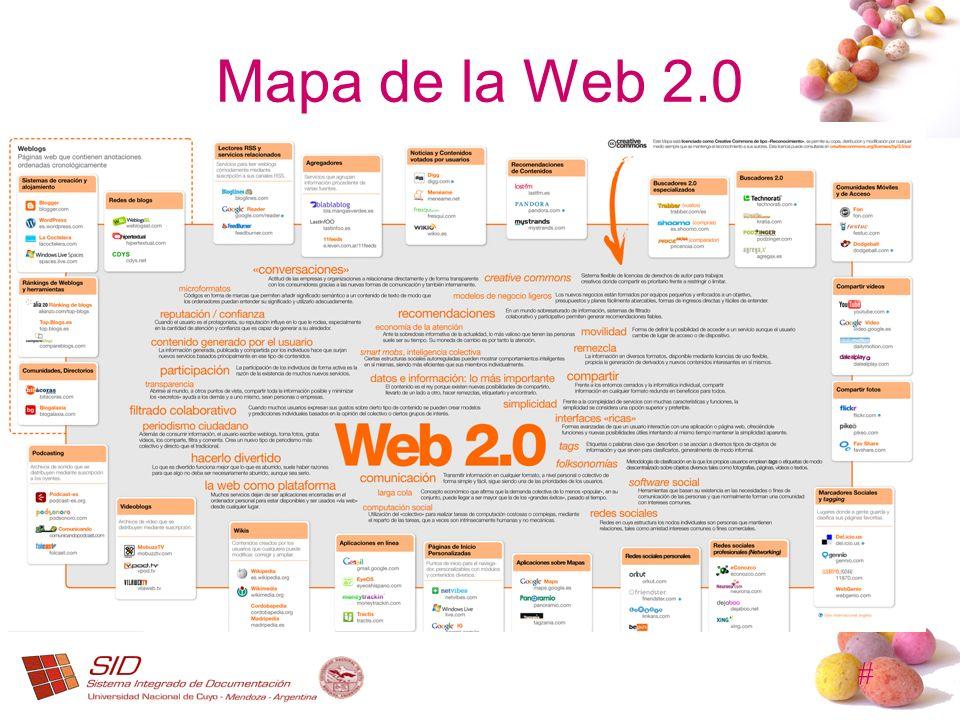 # Mapa de la Web 2.0