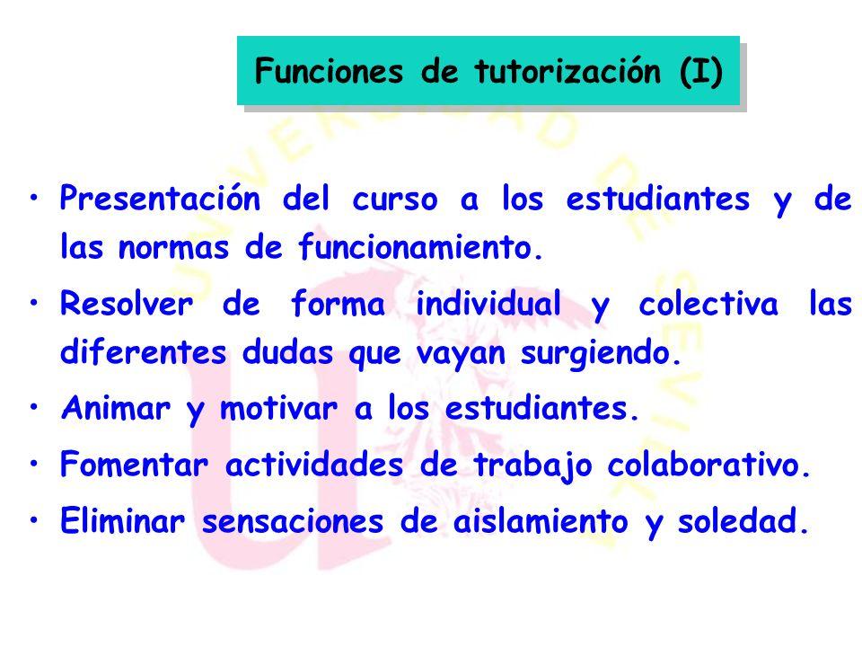 Función de moderador Función de tutor Tres roles fundamentales: organizativo, social e intelectual
