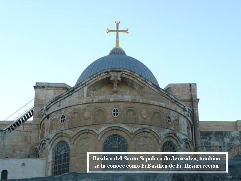 Monte de los Olivos. Desde la ventana de la Iglesia del Dominus Flevit
