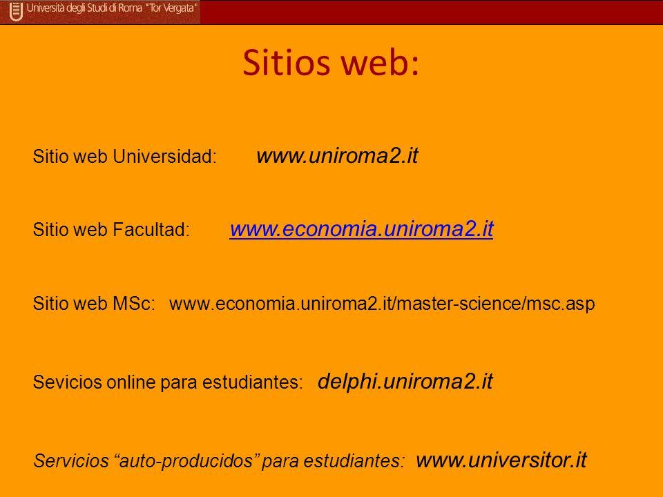 ¿ Perdidos en el sitio web? Timetable I semester Informaciones sobre las asignaturas