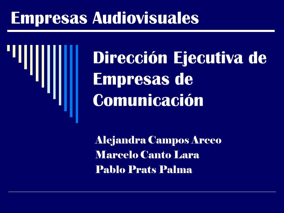 Dirección Ejecutiva de Empresas de Comunicación Alejandra Campos Arceo Marcelo Canto Lara Pablo Prats Palma Empresas Audiovisuales