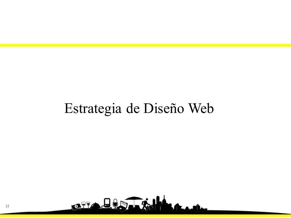 35 Estrategia de Diseño Web