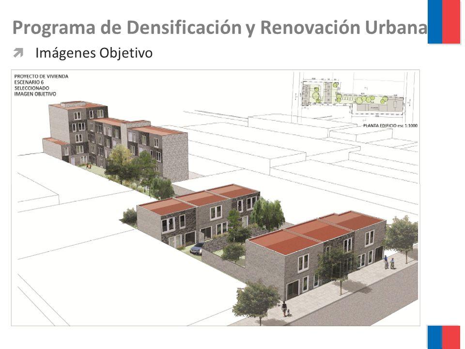 Programa de Densificación y Renovación Urbana Imágenes Objetivo