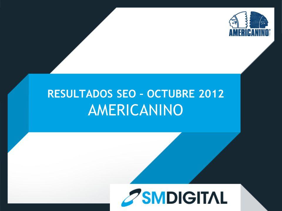RESULTADOS SEO – OCTUBRE 2012 AMERICANINO