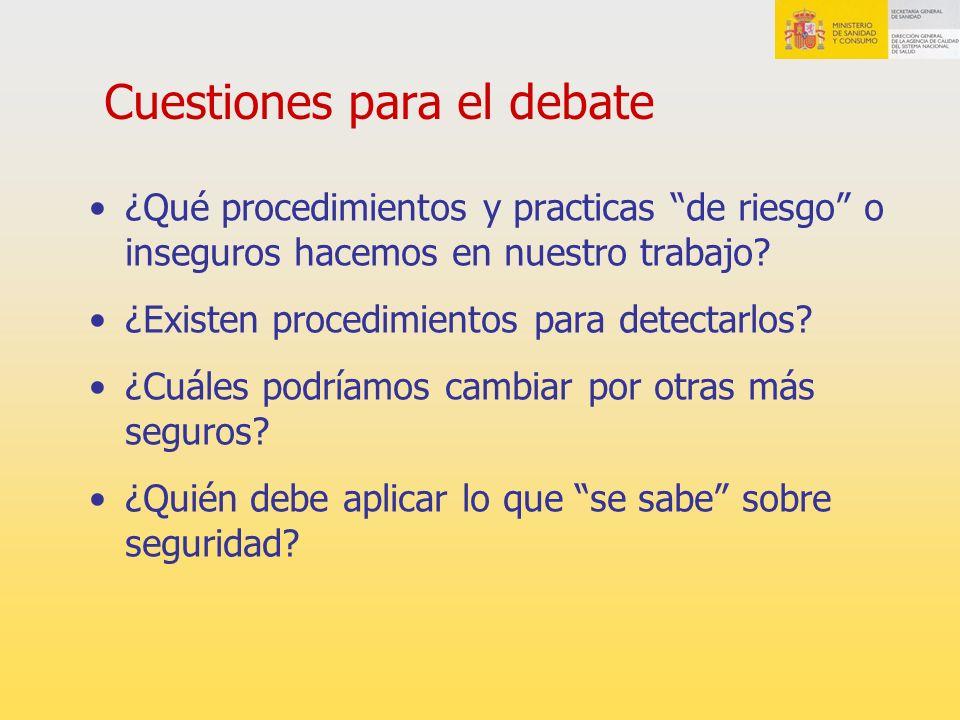 Boletines del Instituto para el Uso Seguro de los Medicamentos http://www.ismp.org/ http://www.ismp.org/