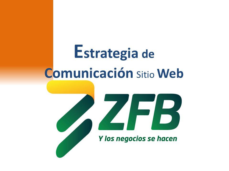 E strategia de Comunicación Sitio Web