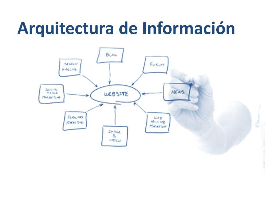 El arte y la ciencia de estructurar y clasificar sitios web e intranets con el fin de ayudar a los usuarios a encontrar y manejar la información.