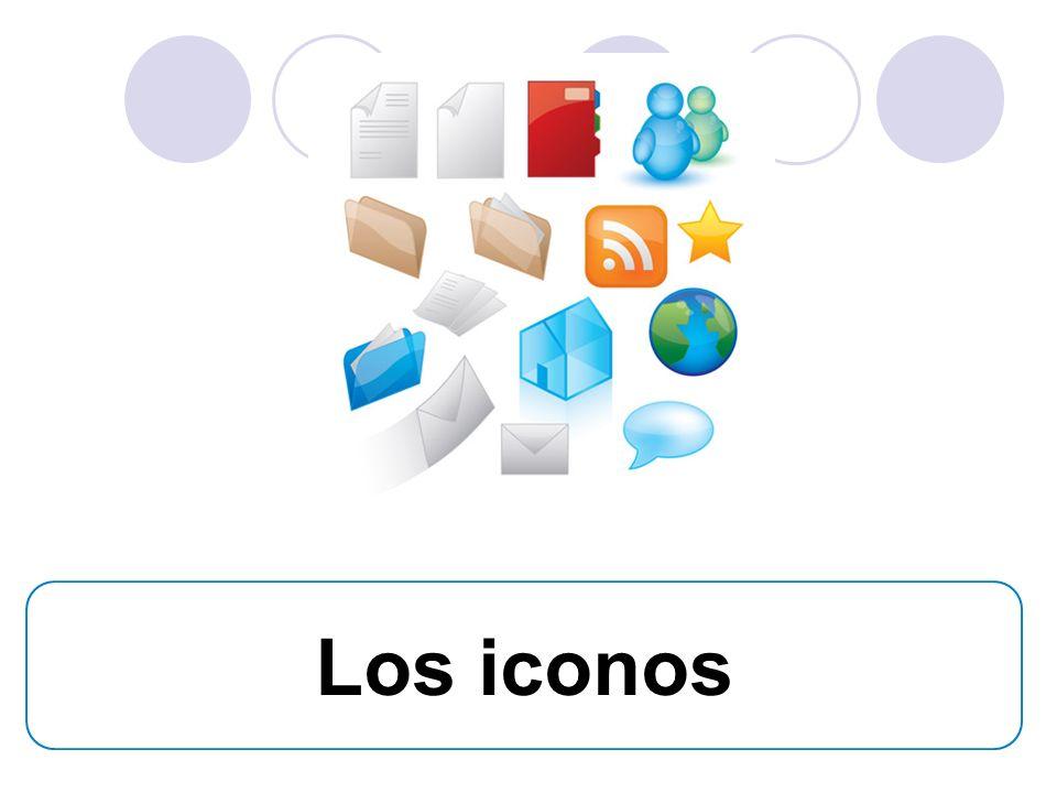 Which item is used to do the following 3) Conectar a internet (el icono de un sitio web/ una dirección electrónica).