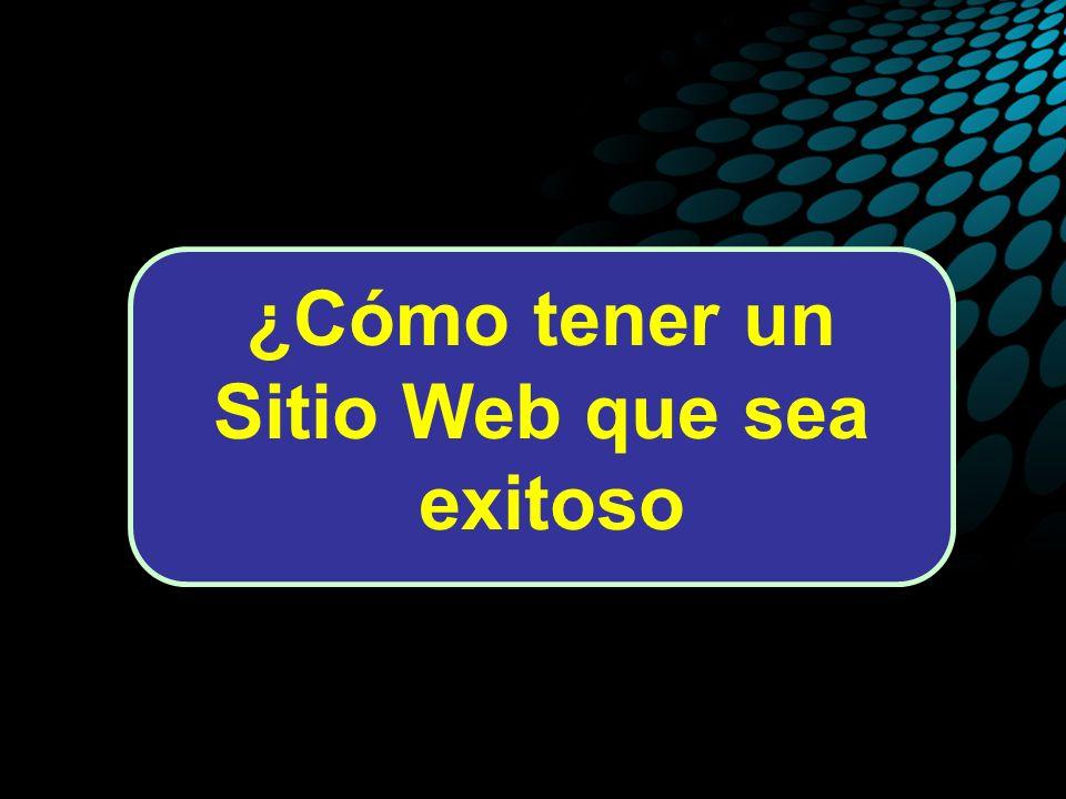 ¿Cómo tener un Sitio Web que sea exitoso.
