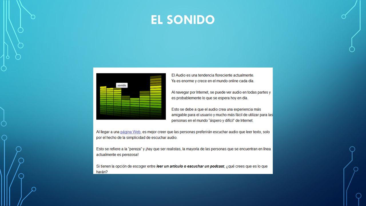 EL SONIDO