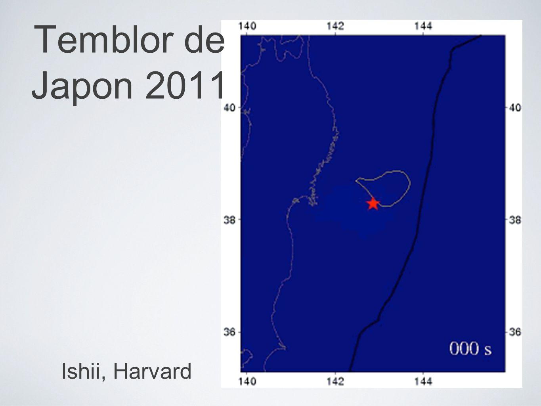 Ishii, Harvard Temblor de Japon 2011