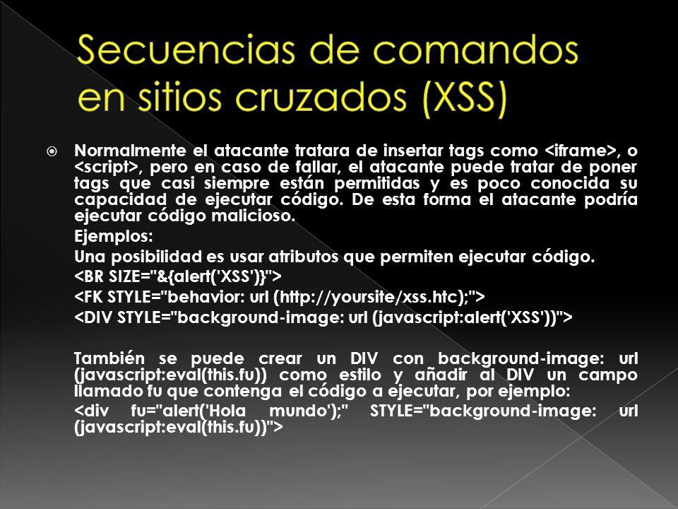 HTTPS no evita XSS.