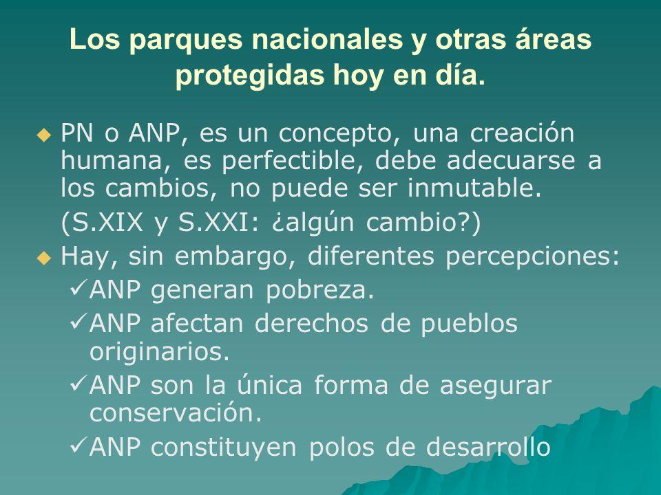 PN o ANP, es un concepto, una creación humana, es perfectible, debe adecuarse a los cambios, no puede ser inmutable. (S.XIX y S.XXI: ¿algún cambio?) H