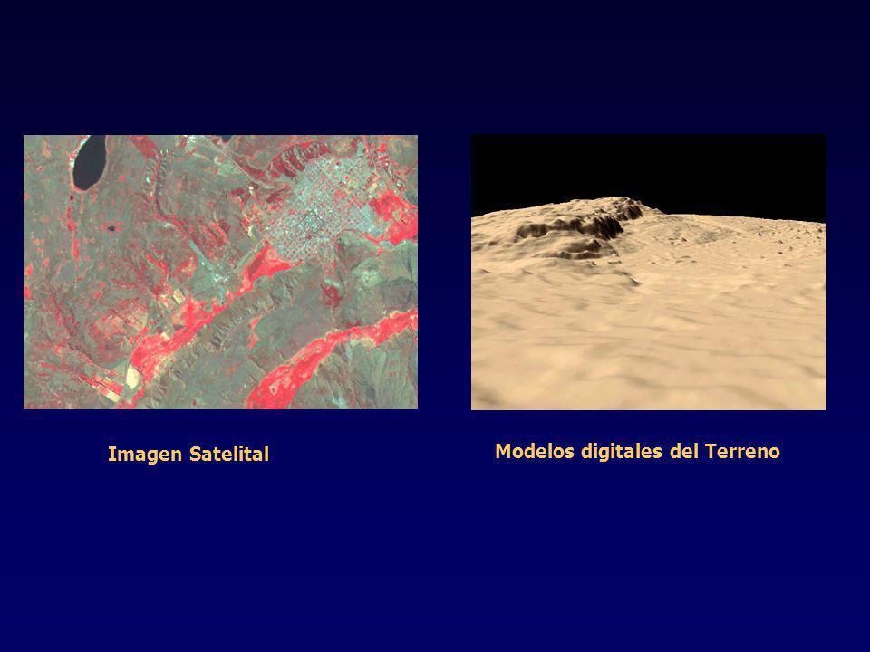 Imagen Satelital Modelos digitales del Terreno