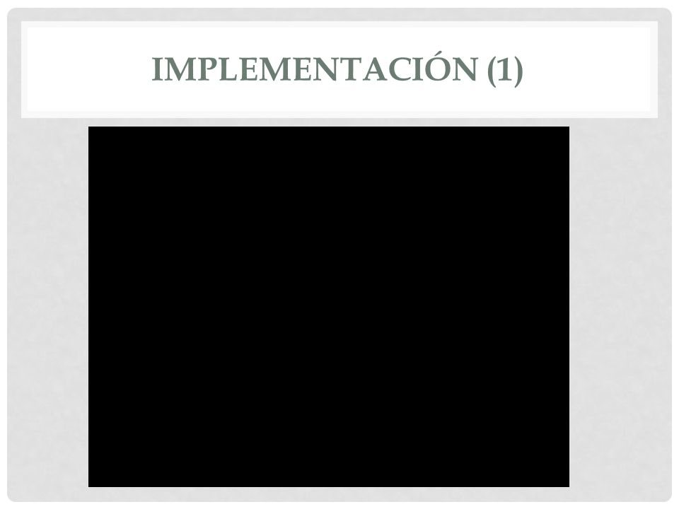 IMPLEMENTACIÓN (1)