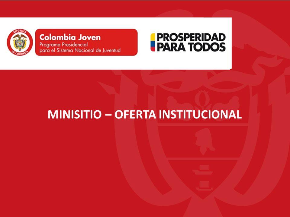 MINISITIO-OFERTA INSTITUCIONAL ¿Para que sirve.