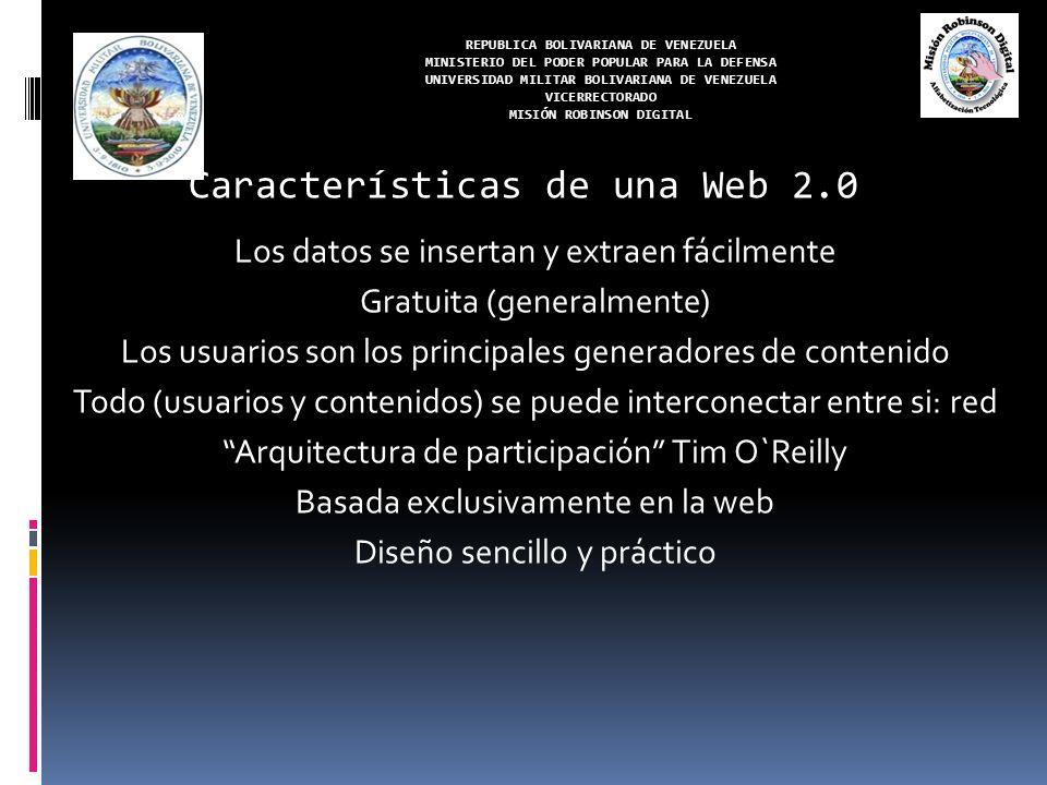 REPUBLICA BOLIVARIANA DE VENEZUELA MINISTERIO DEL PODER POPULAR PARA LA DEFENSA UNIVERSIDAD MILITAR BOLIVARIANA DE VENEZUELA VICERRECTORADO MISIÓN ROBINSON DIGITAL Nube de conceptos