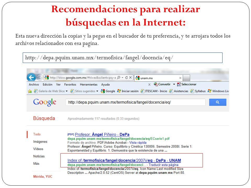 Esta nueva dirección la copias y la pegas en el buscador de tu preferencia, y te arrojara todos los archivos relacionados con esa pagina. http://depa.