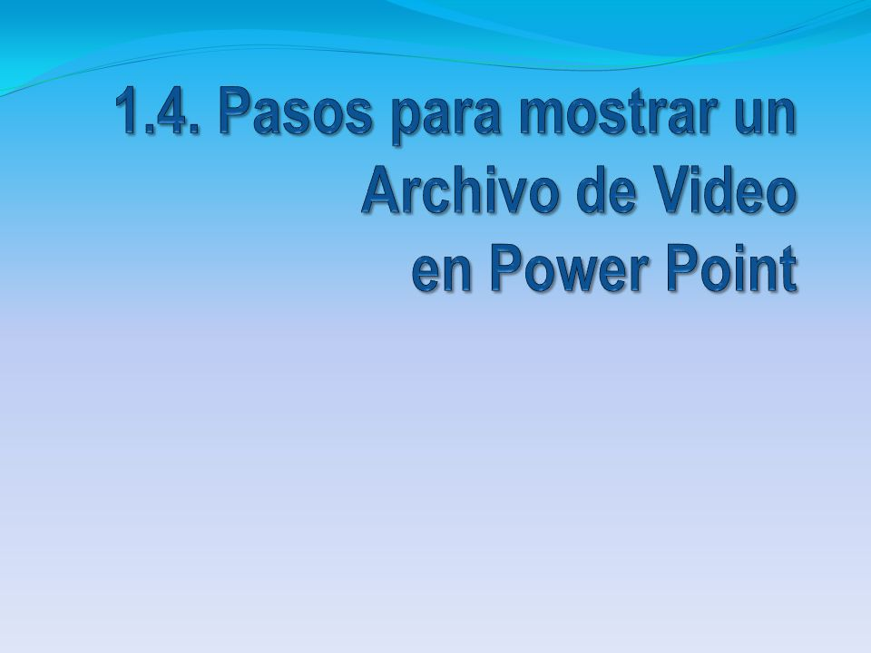 Abrir Power Point