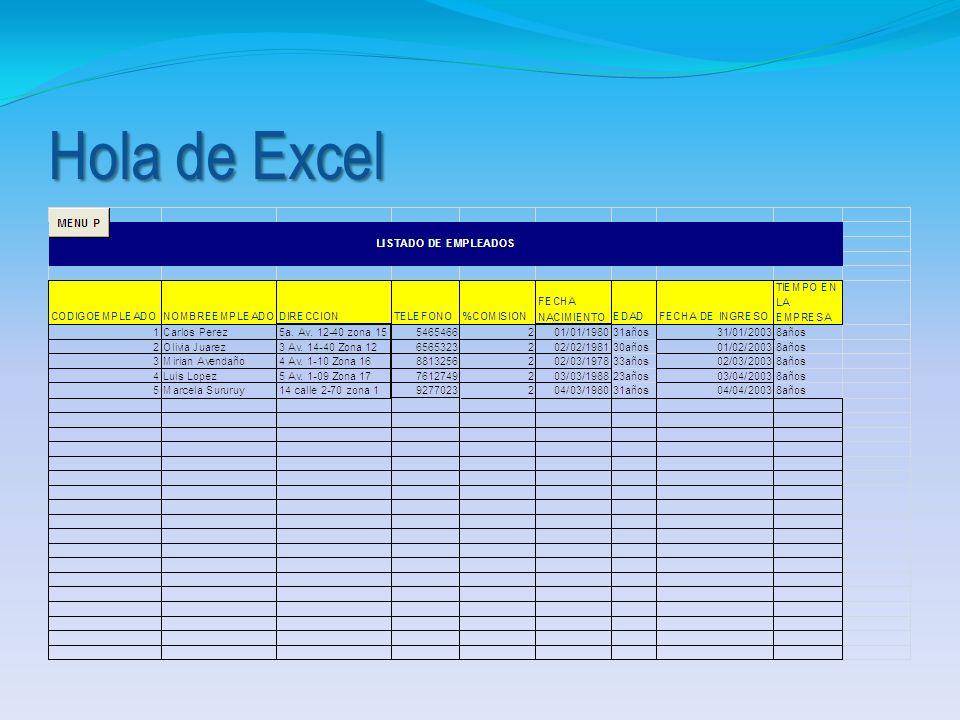 Presionar Insertar Presionar objeto Seleccionar hoja de cálculo Microsoft Excel