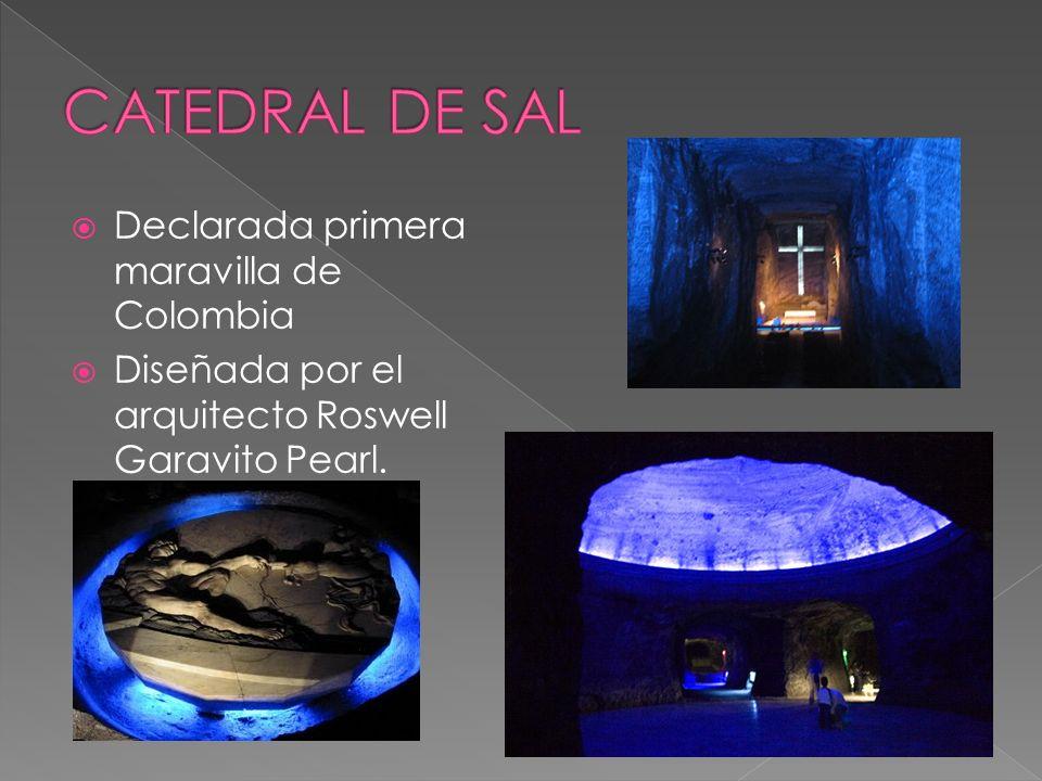 Declarada primera maravilla de Colombia Diseñada por el arquitecto Roswell Garavito Pearl.
